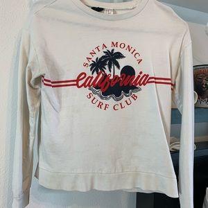 Graphic California long sleeve T-shirt